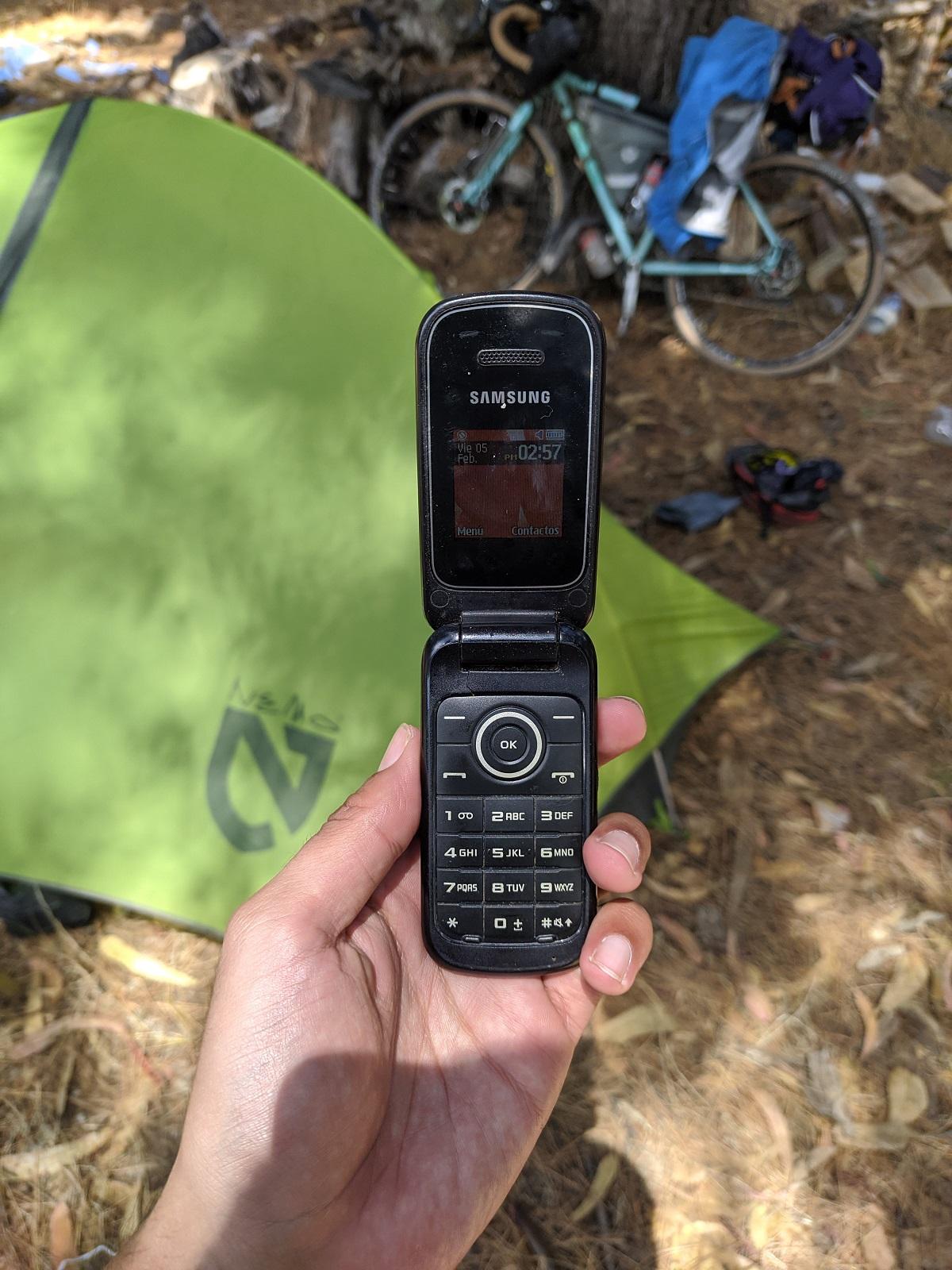 celular antiguo almeja